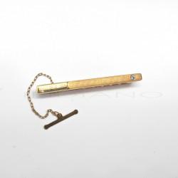 Pisacorbatas Oro Mate y Brillo CirconitaP002800214