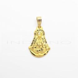 Medalla Oro Silueta Virgen Del Rocío LabradaP010300006