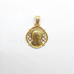 Medalla Oro Calada Virgen NiñaP011000142