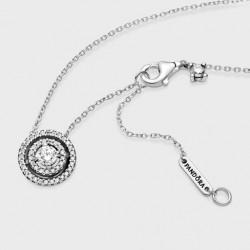 Collar Pandora Doble Halo Brillante399414C01-45