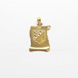 Colgante Oro Pergamino Atletico de MadridP010400110