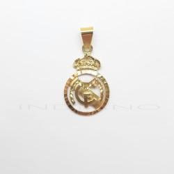 Colgante Oro Escudo del Real Madrid CaladoP010400114