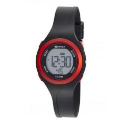 Reloj Marea Digital Negro-RojoB40191/1