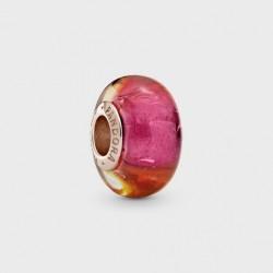 Charm Pandora Rose Cristal de Murano Brillo del Atardecer789440C00
