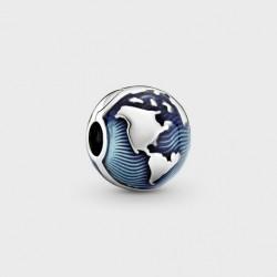 Clip Pandora Globo Azul799429C01