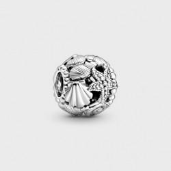 Charm Pandora Estrella de Mar, Conchas y Corazones en Filigrana798950C00