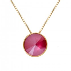 Collar Victoria Cruz Redondo Peony PinkA2809-89G