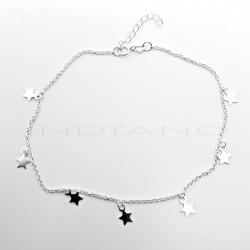 Tobillera Plata Siete EstrellasP024700877