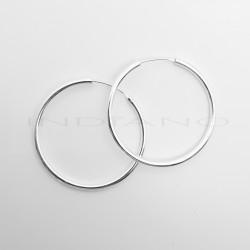 Pendientes Plata Aros Lisos GruesosP024700538
