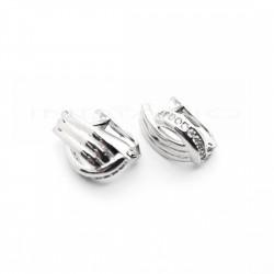 Pendientes Plata Bandas CirconitasP002304958