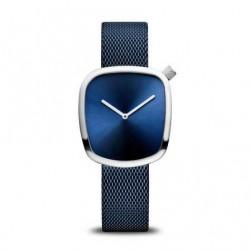 Reloj Bering Cuadrado Azul Classic18034-307
