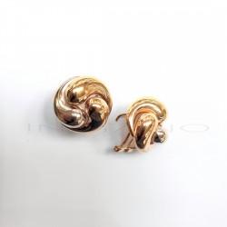 Pendientes Oro Tricolor RemolinoP005503435