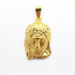 Cabeza de Cristo Oro Melena LateralP010300164