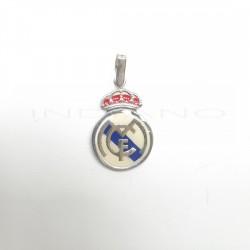 Colgante Plata Escurdo Real Madrid EsmalteP021200020