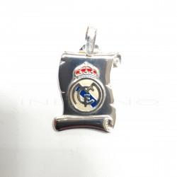 Pergamino Plata Escudo Real Madrid EsmalteP021200022