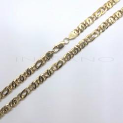 Cadena Oro Hueca Ochos BrilloP013400442