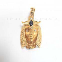 Colgante Oro Cleopatra Grande ZafiroP013400128