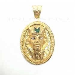 Colgante Oro Ovalado Esfinge EsmeraldaP013400432