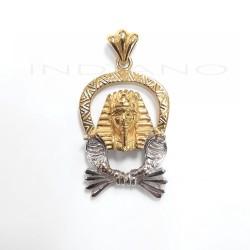 Colgante Oro Bicolor Esfinge NefertitiP023000417