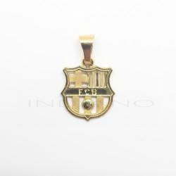 Colgante Oro Escudo Barcelona CaladoP010400039