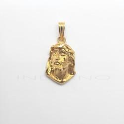 Cabeza de Cristo Oro Relieve LágrimaP007701808