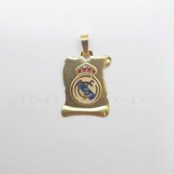 Pergamino Oro Escudo  Real Madrid EsmalteP010400002
