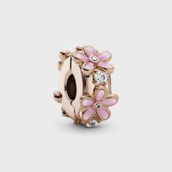 Clip Pandora Rose Margarita Rosa788809C01