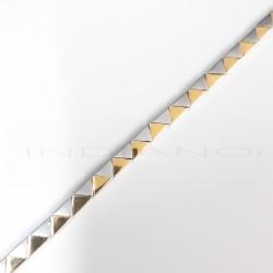 Pulsera Oro Bicolor TriángulosP009600025