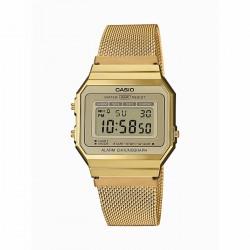 Reloj Casio Digital Retro Malla DoradoA700WEMG-9AEF