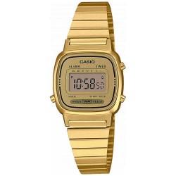 Reloj Casio Retro Dorado MiniLA670WEGA-9EF