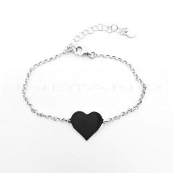 Pulsera Plata Corazón LisoP017801174