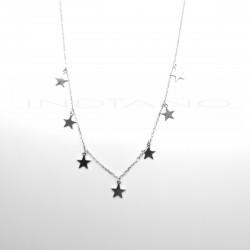 Gargantilla Plata Siete Estrellas LisasP026200284