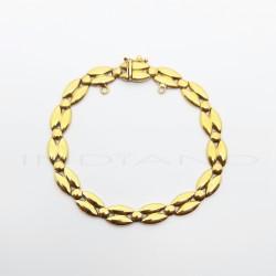 Pulsera Oro Motivo Tipo Calabrote BrilloP008501060