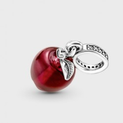 Charm Colgante Pandora Manzana  Cristal de Murano Rojo799534C01