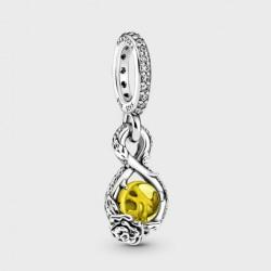 Charm Pandora Colgante Infinito & Rosa Bella de Disney399525C01