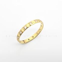 Sortija Oro Tipo Alianza CirconitasP008500157