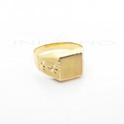 Sello Oro Cadete Brazo Tres Estrellas Tabla Cuadrada0015500156