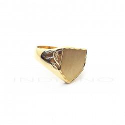 Sello Oro Liso Tabla Escudo MatizadaP005503038