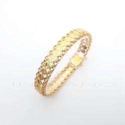 Pulsera Oro Princesa Motivo CírculosP023000419