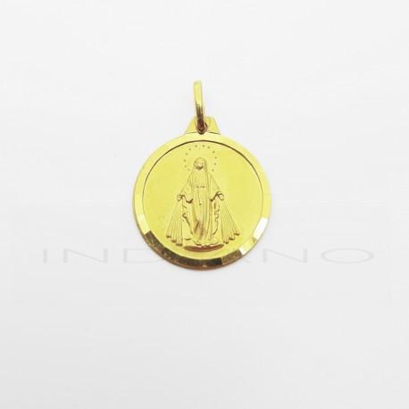 Medalla Oro Virgen de La Milagrosa