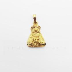 Medalla Oro Silueta Virgen del Rocío PastoraP010300219