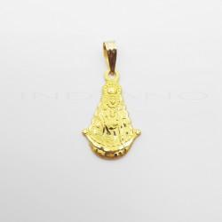 Medalla Oro Silueta Virgen del RocíoP010300376