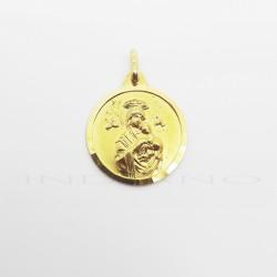 Medalla Oro Virgen del Perpetuo SocorroP011000832