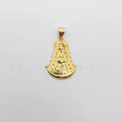 Medalla Oro 18 Klts Virgen del Rocío BrilloP013800436