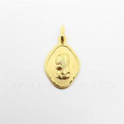 Medalla Oro Rombo Virgen NiñaP011000090