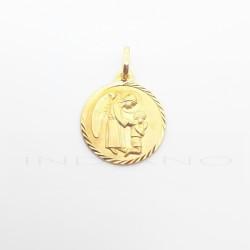 Medalla Oro Angel de la GuardaP002200490