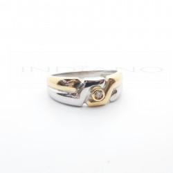 Sortija Oro Bicolor BrillanteP005506029