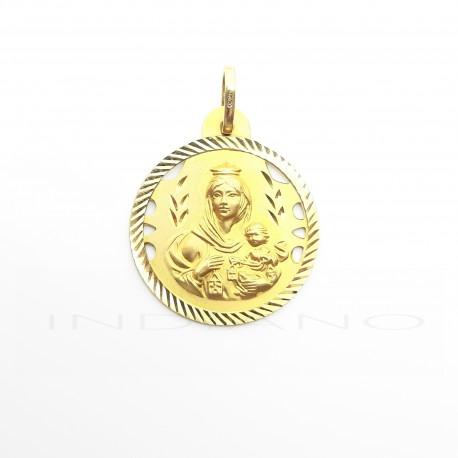 Medalla Oro Virgen del Carmen