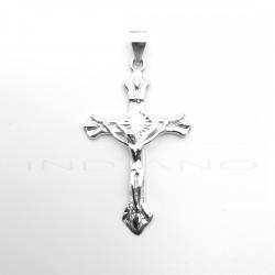 Cruz Plata Labrada Cristo RelieveP025101040
