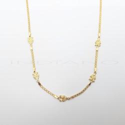 Gargantilla Oro Bismark Motivo Árboles CirconitasP023000494